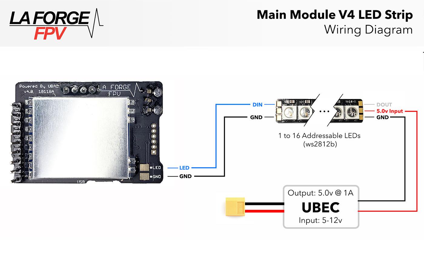 The Main Module La Forge Fpv Fat Shark Camera Wire Diagram